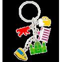 Charms City - Porte clés