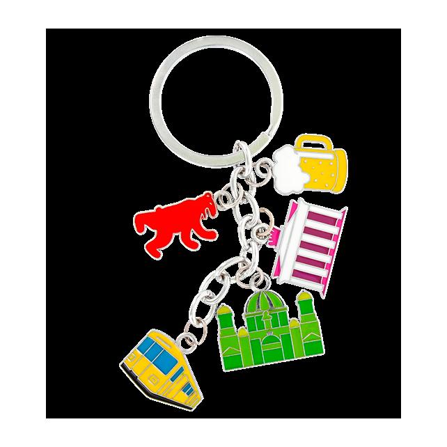 Porte clés - Charms City Berlin