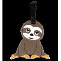 Luggage label - Ani-luggage Owl