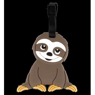 Luggage label - Ani-luggage - Sloth