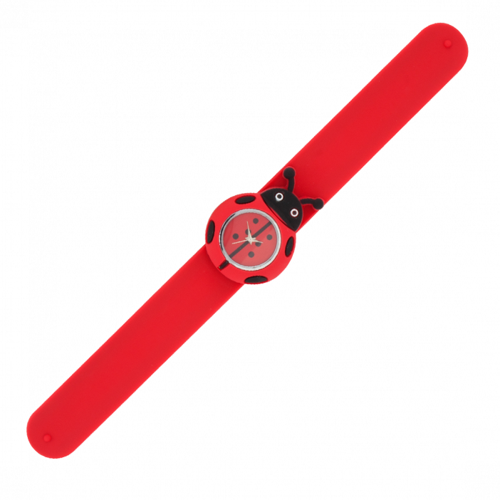 Funny Time Animal - Montre slap Coccinelle