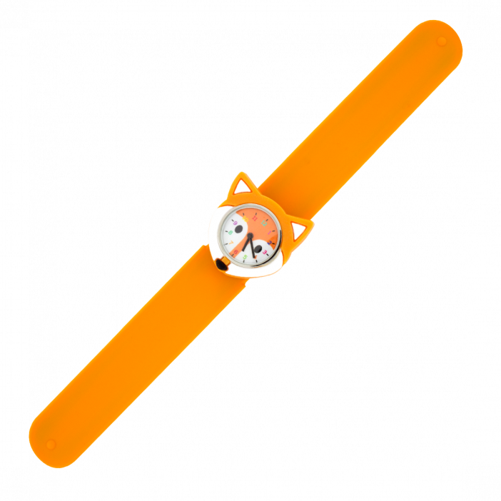 Funny Time Animal - Montre slap Renard