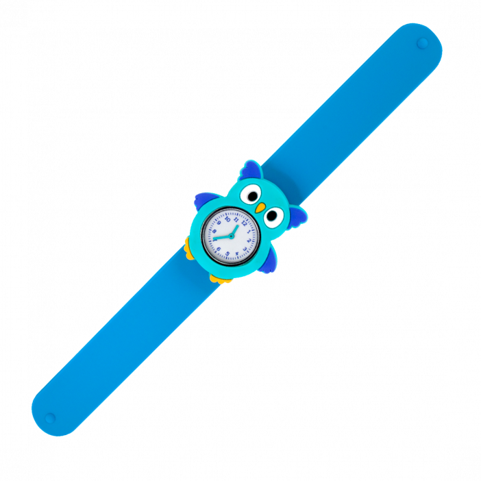 Funny Time Animal - Montre slap Chouette