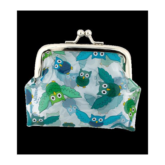 Clipurse - Porte-monnaie avec fermoir à clip Owl