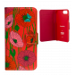 Flap cover/wallet case for iPhone 6, 6S, 7 - Iwallet 2 Cherry
