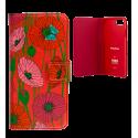 Klappdeckel für iPhone 6, 6S, 7 - Iwallet2 Cherry