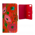 Flap cover/wallet case for iPhone 6, 6S, 7 - Iwallet 2 Ikebana