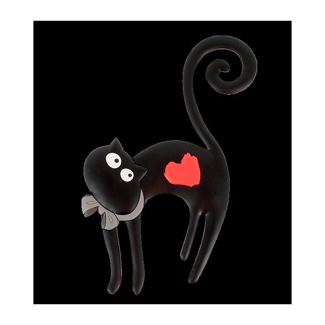 Funky Hook - Crochet magnétique Katze