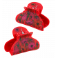 Crab hair clips - Ladyclip Small Pompon