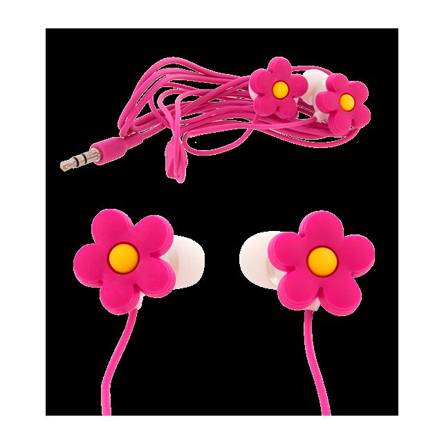 Earbuds - Ecouteurs Fleur