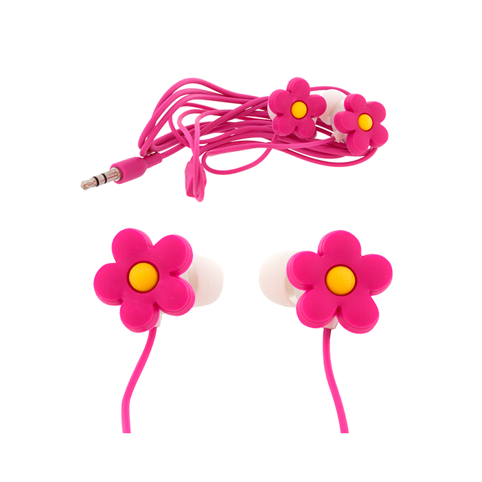 Earbuds - Ecouteurs Flower