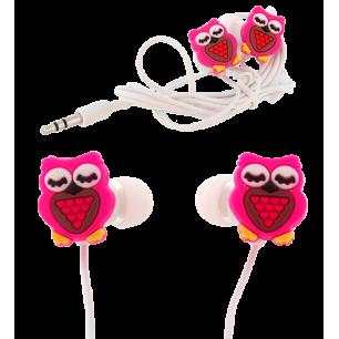 Earphones - Earbuds - Owl