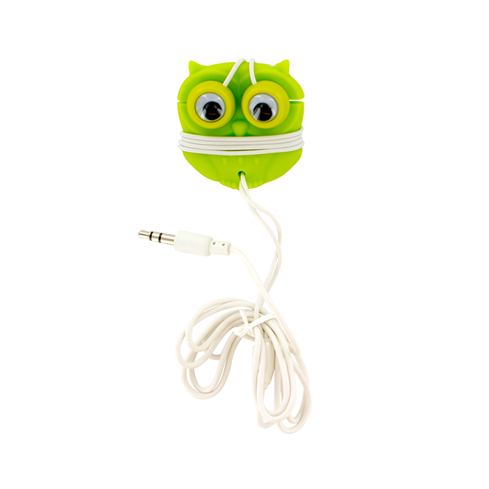 Earphones and cable tidy - Earbuds Hibou