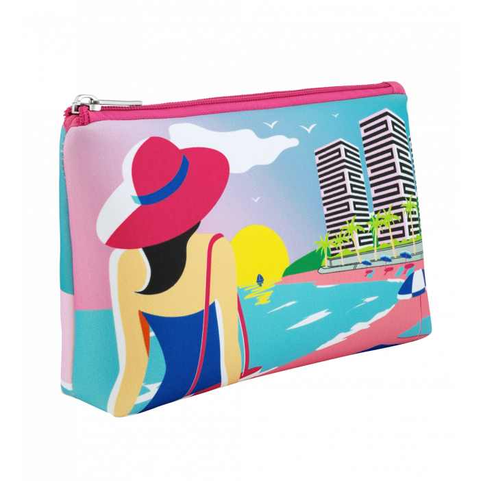 Cosmetic bag - Neopouch Small Rêve de plage