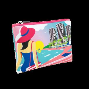 Neo zip - Microfibre pouch