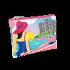Neo zip - Microfibre pouch Rêve de plage