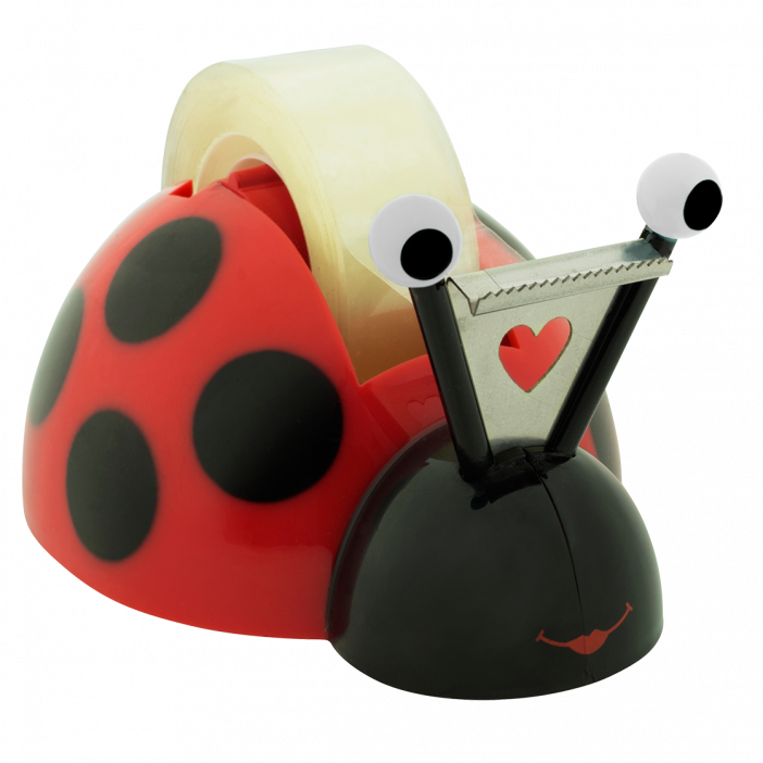 Sticky tape dispenser - Coccicolle Red