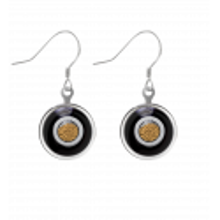 Duo Milk - Hook earrings Black / White