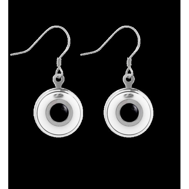 Hook earrings - Duo Milk