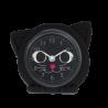 Kleiner Wecker - Funny Clock Katze