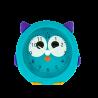 Sveglia piccola - Funny Clock Gufo