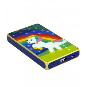 Batteria portatile 5000mAh - Get The Power 2 - Unicorno