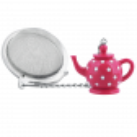 Teekugel - Teapot Rosa