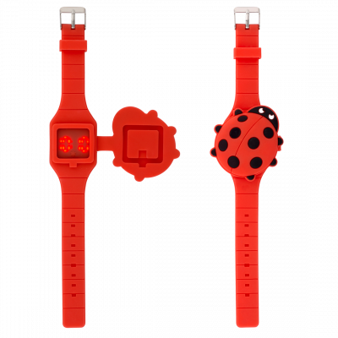Orologio digitale per bambini - Aniwatch - Coccinella