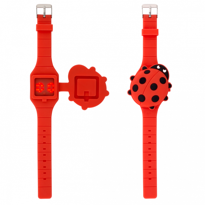 Watch LED - Aniwatch Ladybird