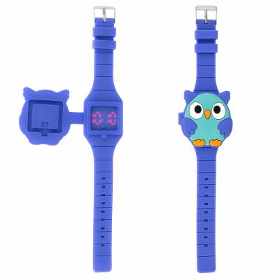 Montre LED - Aniwatch - Chouette