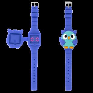 Uhr LED - Aniwatch - Eule
