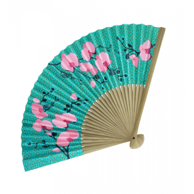 Fan - LHO - Orchid Blue