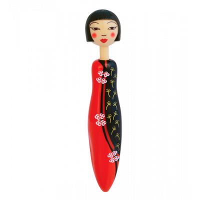 Fashion Girl Pen - Retractable ballpoint pen