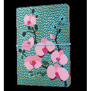 Double carnet A5 - Smart note - Orchid Blue