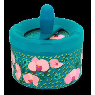 Posacenere con pulsante - Pousse Pousse - Orchid Blue