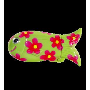 Fischetui - Fish Case - Grün
