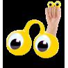 Finger Spies - Bague marionnette Jaune
