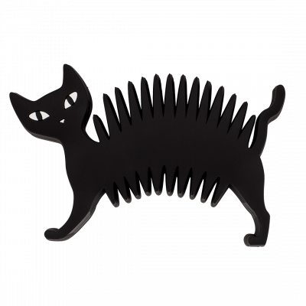 Soap dish - Soapycat - Black