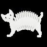 Soapycat - Soap dish White