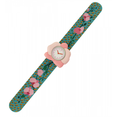 Orologio bambini - Funny Time - Orchid Blue