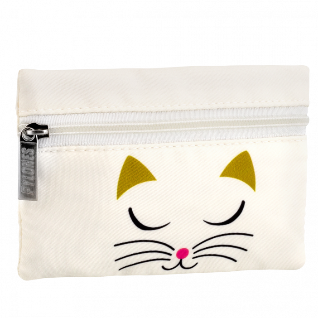 Geldbörse - Mini Purse White Cat