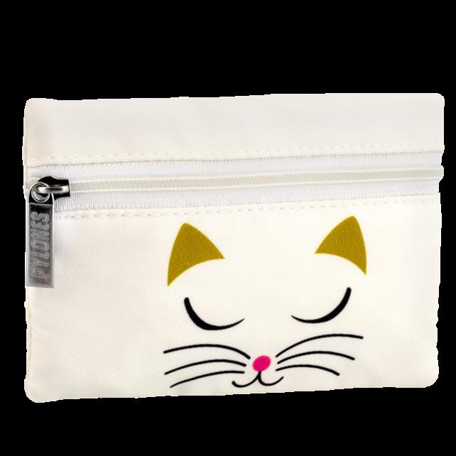Purse - Mini Purse White Cat