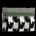 Geldbörse - Mini Purse Black Cat
