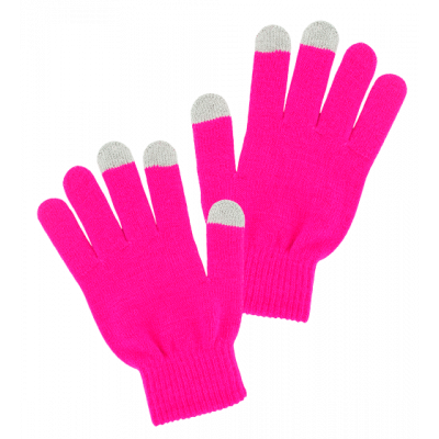 Tactile gloves - Can't Touch - Pink