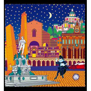 Tissu microfibre pour lunettes - Belle Vue City - Bologne