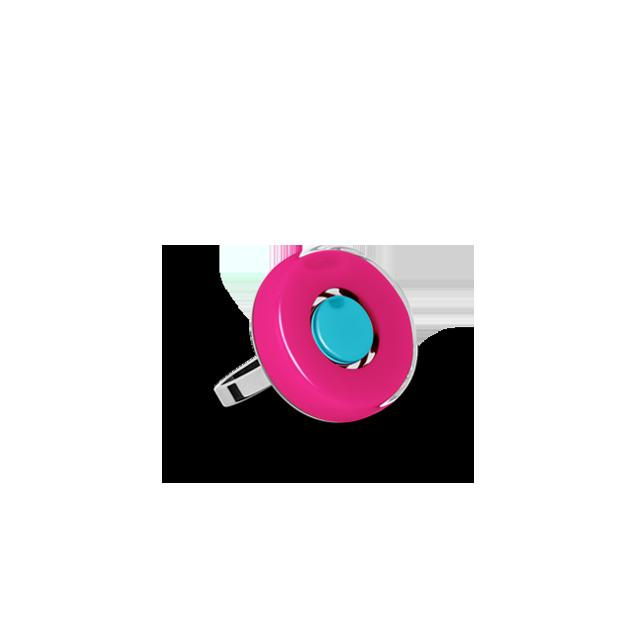 Customized mini duo ring