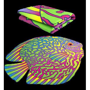 Microfibre towel - Body DS Shape Large - Under the sea