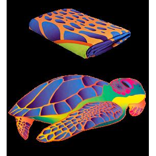 Microfibre towel - Body DS Shape Medium - Under the sea