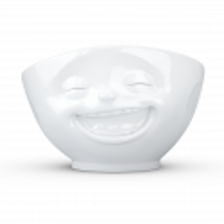 Very big bowl / Salad bowl - Emotion Laughing