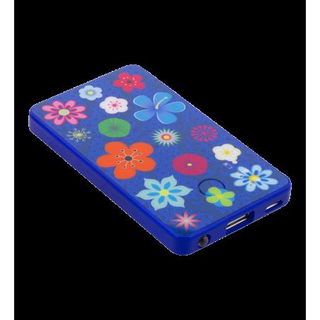 Batterie nomade - Get The Power Blue Flower